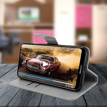 Avis Avizar Etui folio Gris pour Huawei Y6 2019 , Honor 8A