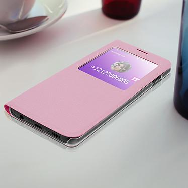 Acheter Avizar Etui folio Rose à fenêtre pour Samsung Galaxy S10 Plus