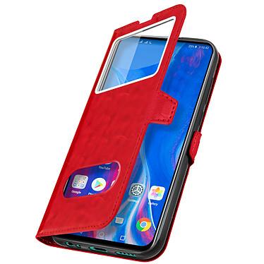 Avizar Etui folio Rouge pour Huawei P Smart Z , Honor 9X pas cher