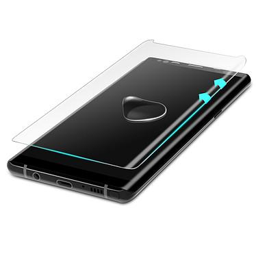 Avizar Film verre trempé Transparent pour Samsung Galaxy Note 8 pas cher