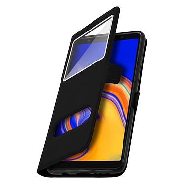 Avizar Etui folio Noir pour Samsung Galaxy A9 2018 pas cher