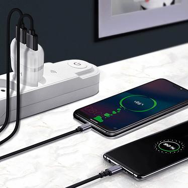 Acheter Avizar Chargeur secteur Blanc pour Tous les smartphones et toutes les tablettes