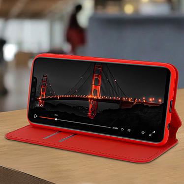 Avis Avizar Etui folio Rouge pour Huawei P Smart Plus
