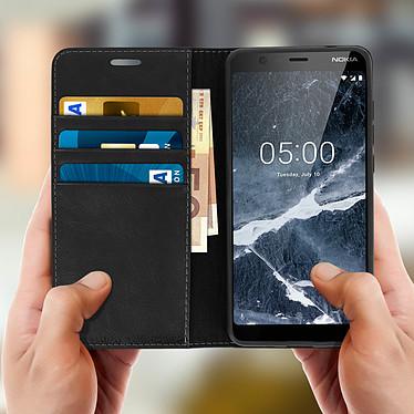 Acheter Avizar Etui folio Noir pour Nokia 5.1