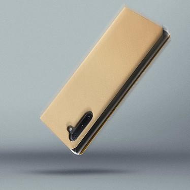 Avis Avizar Etui folio Dorée pour Samsung Galaxy Note 10