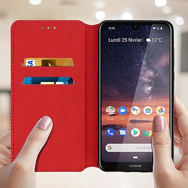Acheter Avizar Etui folio Rouge pour Nokia 3.2
