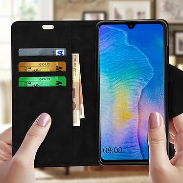 Avis Avizar Etui folio Noir Éco-cuir pour Huawei Mate 20