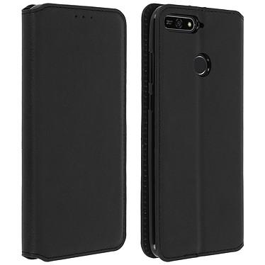 Avizar Etui folio Noir pour Honor 7A , Huawei Y6 2018 pas cher