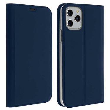 Avizar Etui folio Bleu Nuit Éco-cuir pour Apple iPhone 11 Pro Etui folio Bleu Nuit éco-cuir Apple iPhone 11 Pro