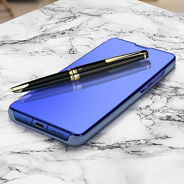 Avizar Etui folio Bleu pour Honor View 20 pas cher