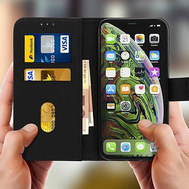 Acheter Avizar Etui folio Noir Portefeuille pour Apple iPhone XS Max