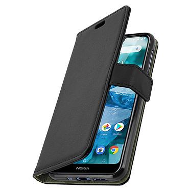 Avizar Etui folio Noir pour Nokia 7.1 pas cher