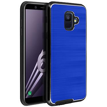 Avizar Coque Bleu Hybride pour Samsung Galaxy A6 Coque Bleu hybride Samsung Galaxy A6