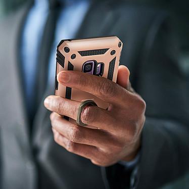 Acheter Avizar Coque Rose Champagne Bi-matières pour Samsung Galaxy S9