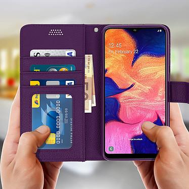 Acheter Avizar Etui folio Violet pour Samsung Galaxy A10