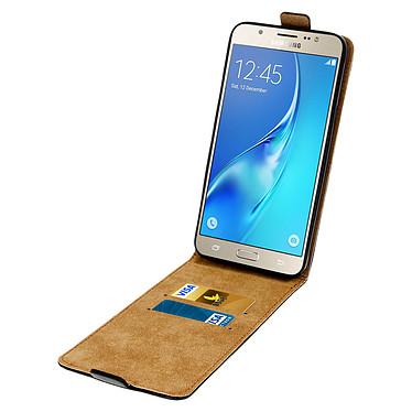 Acheter Avizar Etui à clapet Noir pour Samsung Galaxy J7 2016