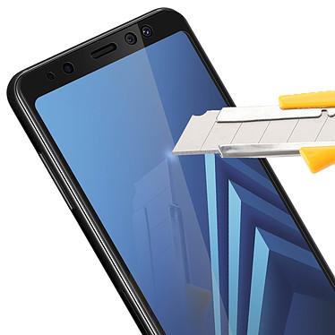 Acheter Avizar Film verre trempé Noir pour Samsung Galaxy A8