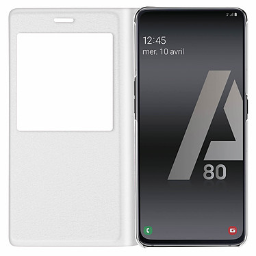 Avis Avizar Etui folio Blanc pour Samsung Galaxy A80