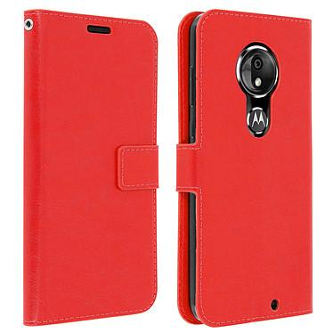 Avizar Etui folio Rouge pour Motorola Moto G7 , Motorola Moto G7 Plus Etui folio Rouge Motorola Moto G7 , Motorola Moto G7 Plus