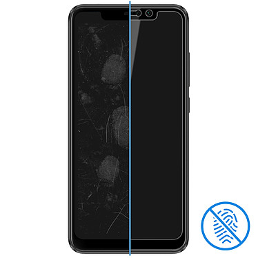 Avis Avizar Film verre trempé Noir pour Xiaomi Redmi Note 6 Pro