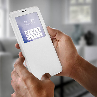 Avis Avizar Etui folio Blanc pour Oneplus 7 Pro