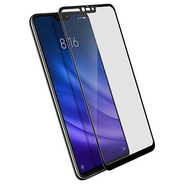 Avizar Film verre trempé Noir pour Xiaomi Mi 8 Lite Film verre trempé Noir Xiaomi Mi 8 Lite