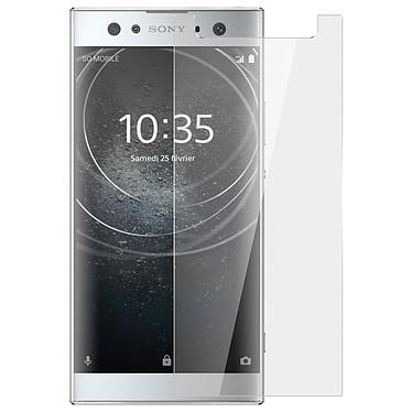 Avizar Film verre trempé Transparent pour Sony Xperia XA2 Ultra pas cher