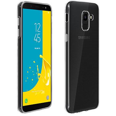 Avizar Coque Transparent Silicone pour Samsung Galaxy J6 pas cher