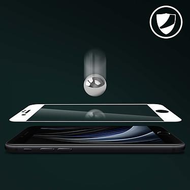 Acheter Avizar Film verre trempé Blanc pour Apple iPhone 7 , Apple iPhone 8 , Apple iPhone SE 2020
