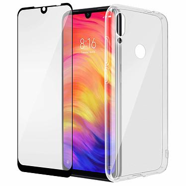 Avizar Pack protection Noir pour Xiaomi Redmi Note 7 pas cher