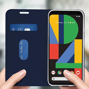 Avis Avizar Etui folio Bleu Nuit pour Google Pixel 4