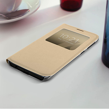 Acheter Avizar Etui folio Dorée pour Samsung Galaxy A20e