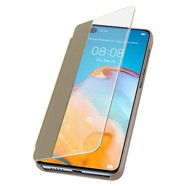 Avizar Etui folio Dorée pour Huawei P40 pas cher