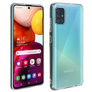 Avizar Coque Transparent pour Samsung Galaxy A51 Coque Transparent Samsung Galaxy A51