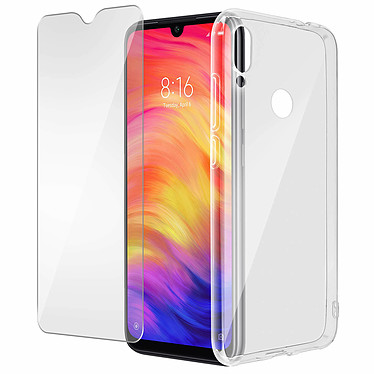 Avizar Pack protection Transparent pour Xiaomi Redmi Note 7 pas cher