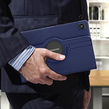 Avizar Etui folio Bleu pour Samsung Galaxy Tab A7 10.4 2020 pas cher