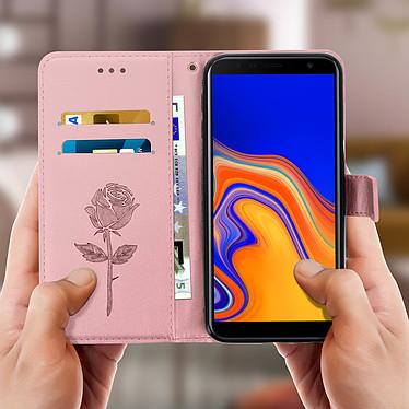 Acheter Avizar Etui folio Rose Champagne pour Samsung Galaxy J6 Plus