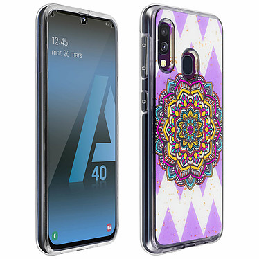Avizar Coque Multicolore pour Samsung Galaxy A40 Coque Multicolore Samsung Galaxy A40