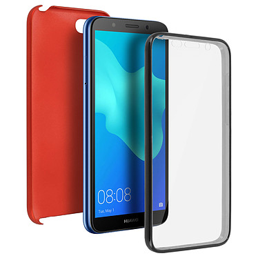 Avizar Coque Rouge pour Huawei Y5 2018 , Honor 7S Coque Rouge Huawei Y5 2018 , Honor 7S