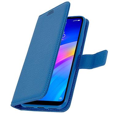 Avizar Etui folio Bleu pour Xiaomi Redmi 7 pas cher