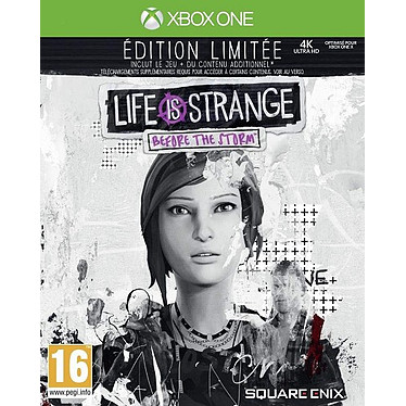 Life is Strange Before the Storm Edition Limitee (XBOX ONE) Jeu XBOX ONE Action-Aventure