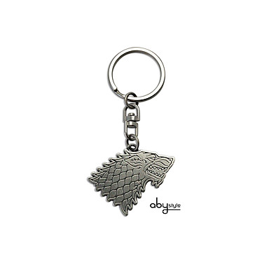 GAME OF THRONES - Porte-clés Stark GAME OF THRONES - Porte-clés Stark