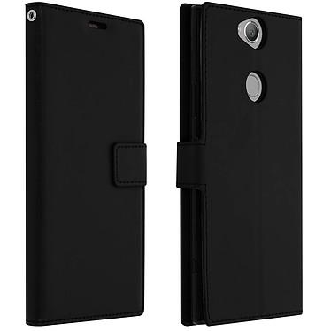 Avizar Etui folio Noir pour Sony Xperia XA2 Plus Etui folio Noir Sony Xperia XA2 Plus