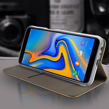 Avis Avizar Etui folio Dorée pour Samsung Galaxy J6 Plus