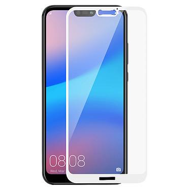 Avizar Film verre trempé Blanc pour Huawei P20 Lite pas cher