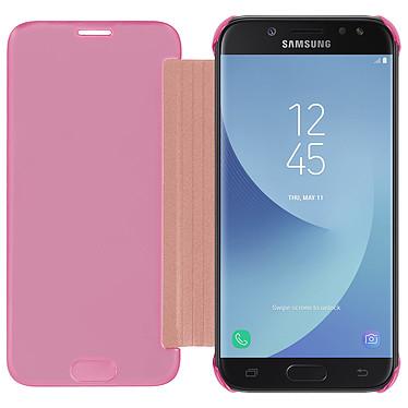 Acheter Avizar Etui folio Rose Design Miroir pour Samsung Galaxy J3 2017