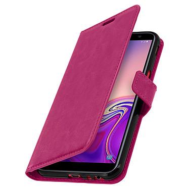 Avizar Etui folio Fuchsia pour Samsung Galaxy J6 Plus pas cher