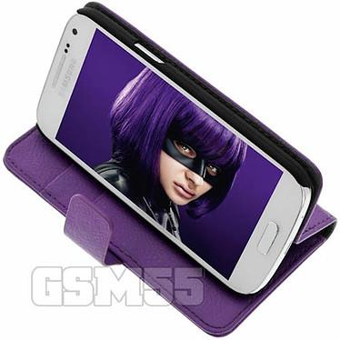 Acheter Avizar Etui folio Violet pour Samsung Galaxy S4 Mini