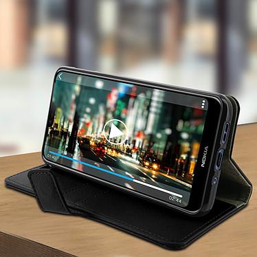 Avis Avizar Etui folio Noir pour Nokia 7.1