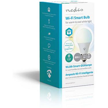 Avis Nedis Ampoule connectée LED W10 Wi-Fi  NEDIS